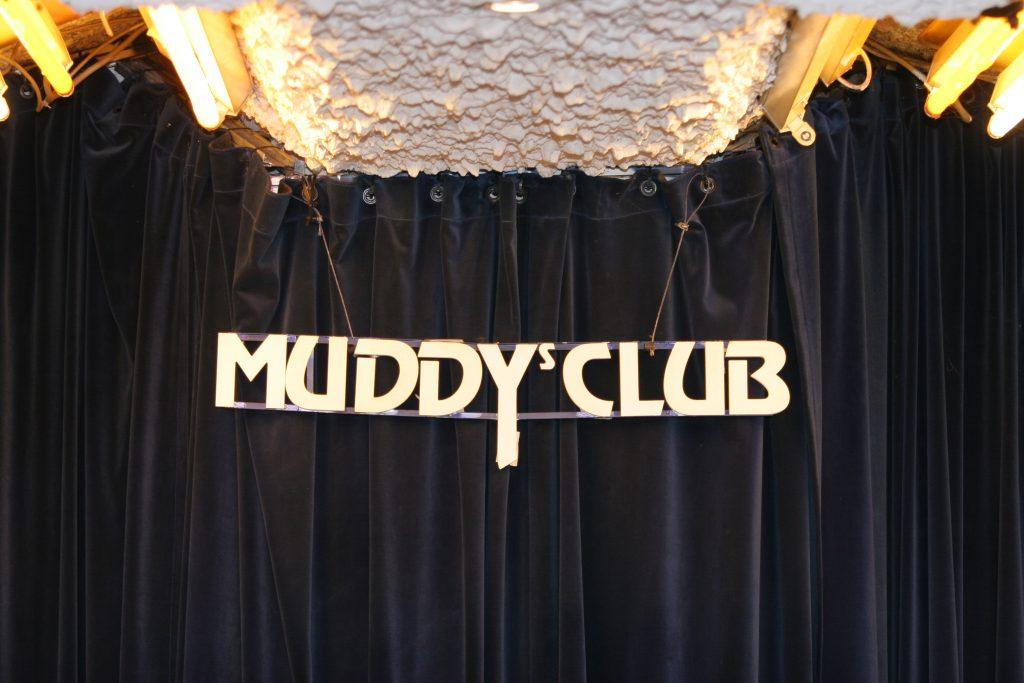Foto unserer Gründungsveranstaltung zeigt Bühne des Muddy's Club